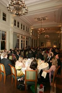 Held in the Long Room at Lords Cricket Ground, the dinner was well attended by Prof Brian Vincent's family, colleagues and friends