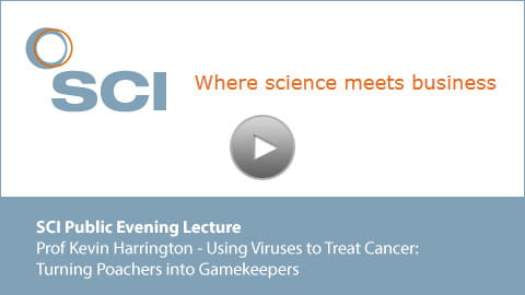 Prof Kevin Harrington - Using Viruses to Treat Cancer: Turning Poachers into Gamekeepers